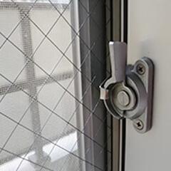 鍵錠(クレセント)の修理・交換